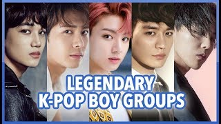 LEGENDARY K-POP BOY GROUPS (2010-2018)