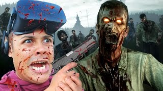 Repeat youtube video SHOOT ZOMBIES IN FIRST PERSON VIRTUAL REALITY!!! (Oculus Rift Games)