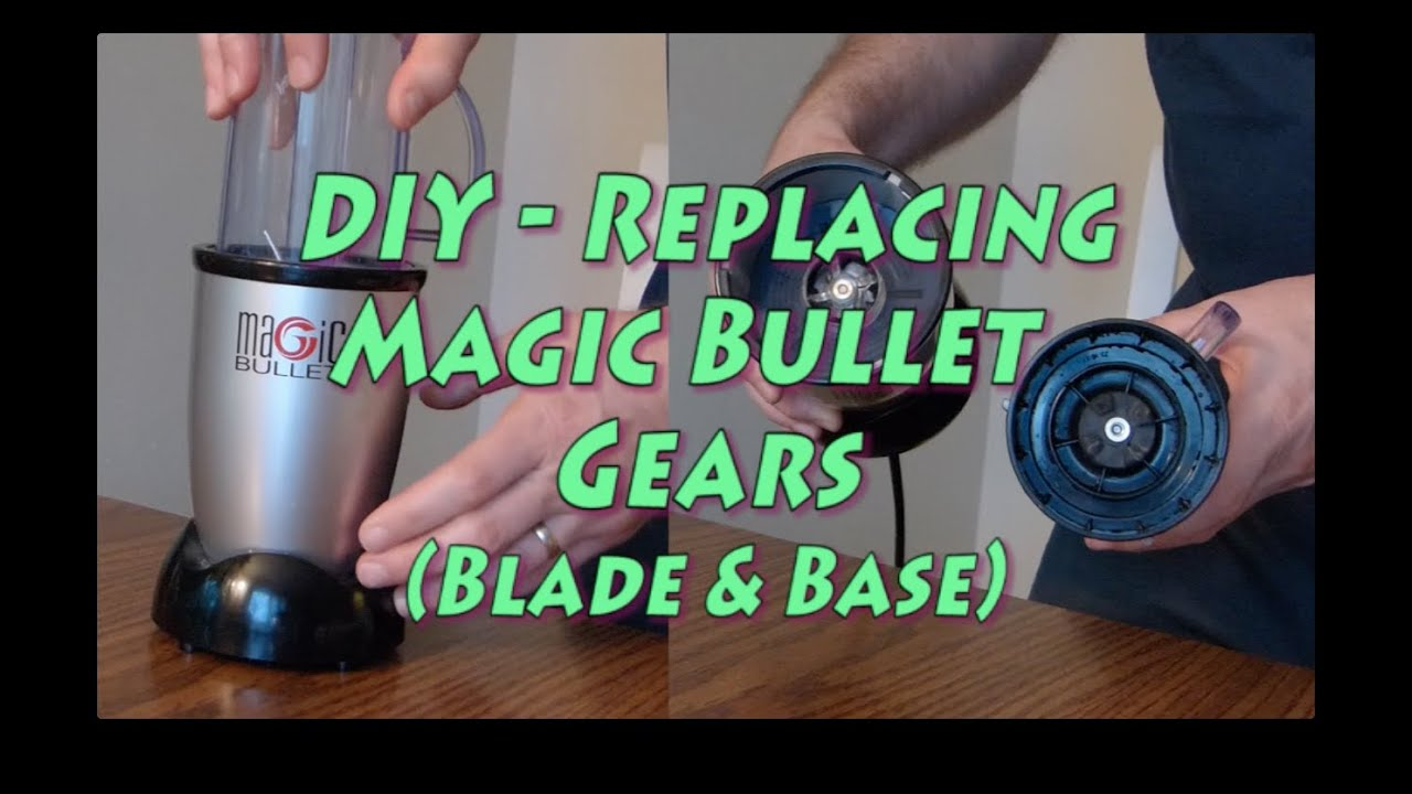 small resolution of replacing magic bullet gear base blade