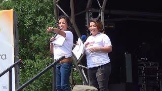 Tart and Viveika at the 'Barrio Fiesta Sa London 2015' (Original Footage)