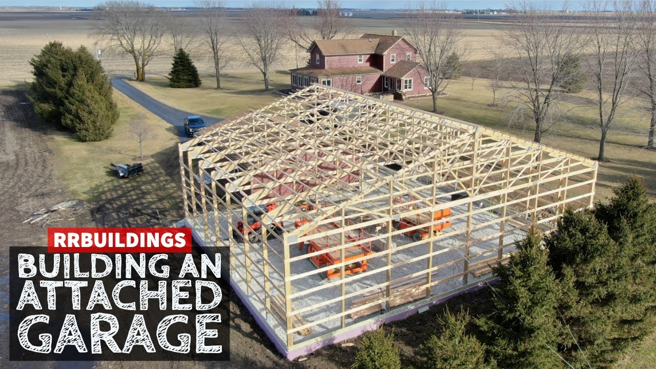 Garage Addition How To Build Garage Addition 5 Getting Tricky With The Trusses