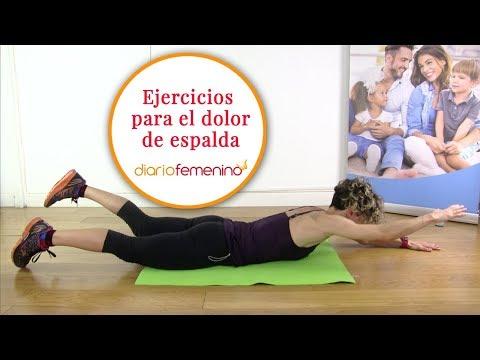 Ejercicios para aliviar el dolor de espalda | Cómo fortalecer la espalda