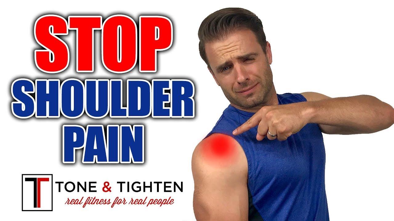 Download How To ELIMINATE Shoulder Pain - Shoulder Impingement Exercises