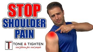 How To ELIMINATE Shoulder Pain - Shoulder Impingement Exercises