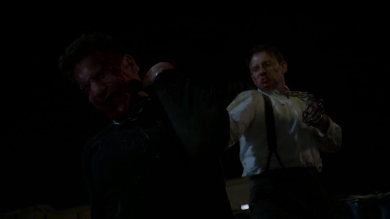 Download Marvels The Punisher 2x13 - Frank Castle and John Pilgrim fight scene
