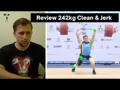Analysis Of Ilya Ilyin 242kg Clean And Jerk