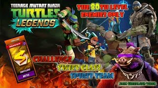 tmnt legends challenge swift class spirit team the 80th level enemies only