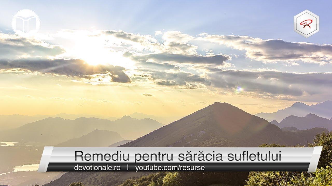Remediu pentru sărăcia sufletului [devoțional zilnic]