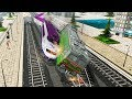 Indian Train Racing Games 3D - Multiplayer  Lvl 8 (Android Gameplay )