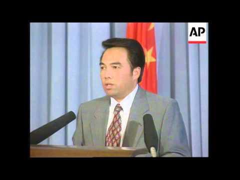 CHINA: BEIJING: CHINA REPEATS DEMAND TO JOIN WTO