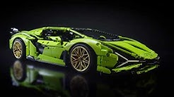 The LEGO Technic Lamborghini Sián FKP 37