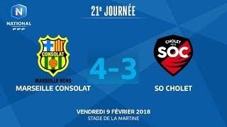 Marseille Consolat vs Cholet full match