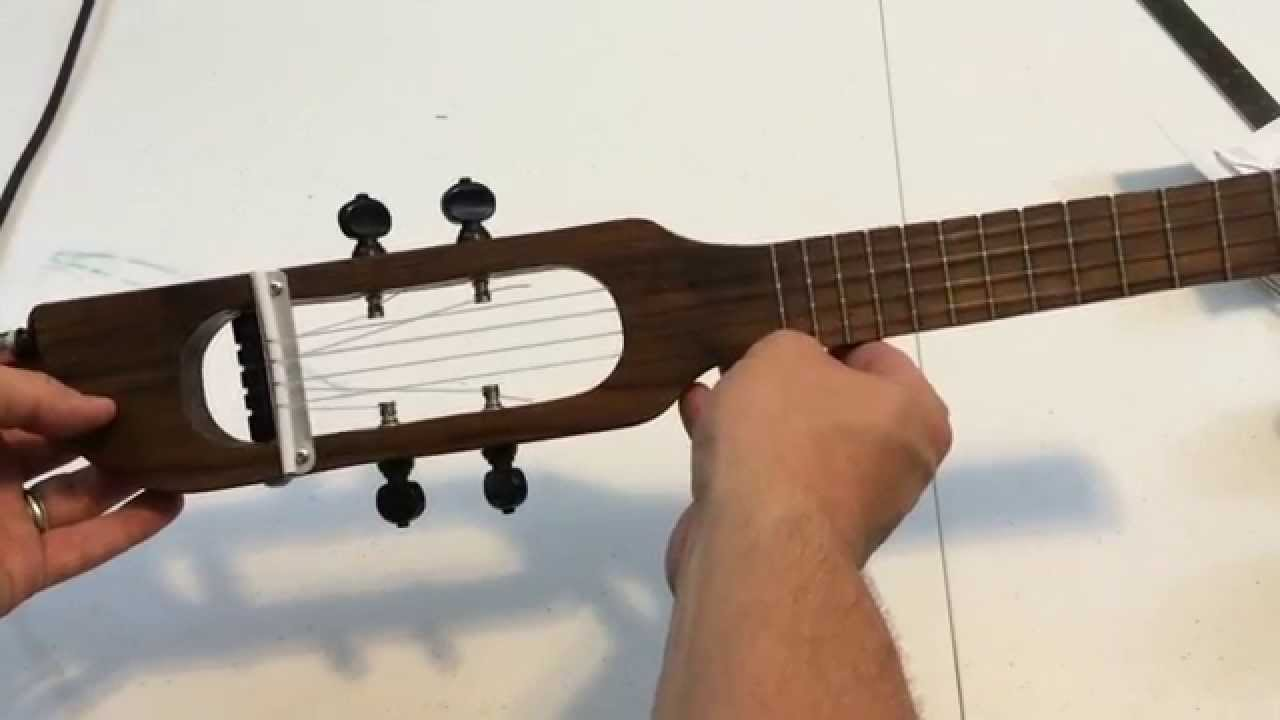 Building A Travel Ukulele Youtube