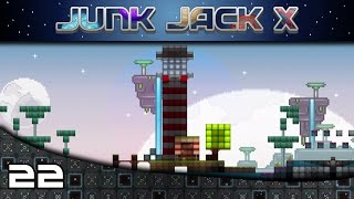 Junk Jack X | Let's Play | Episode: 22 There Is A New Ladder Master In Town!
