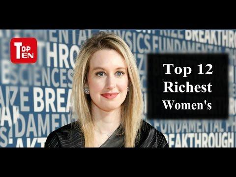 Top 12 Richest Women in The World-2017