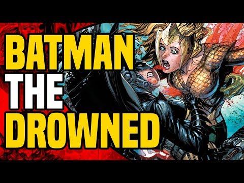 Dark Knights Metal: Batman The Drowned ( Female Batman Becomes Aqua Monster )