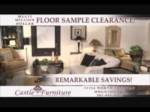 Castle Furniture Multi Million Dollar Floor Sample Sale Ad YouTube