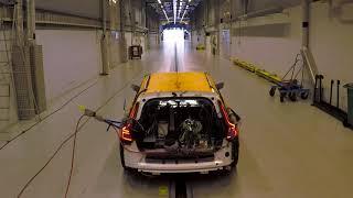 Volvo V60 crash test!