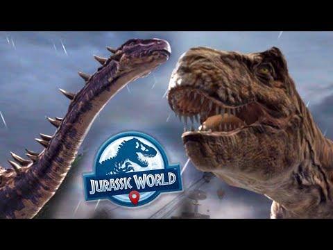 DINOSAURS BREAK OUT!!! - Jurassic World Alive | Ep9 ( Jurassic GO )
