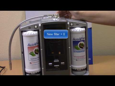 How to Reset the Filter Counters in the Athena Water Ionizer JS 205