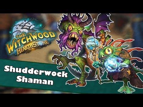 Shudderwock Shaman | Hearthstone Deck Spotlight | Witchwood | Broken Combo or Useless Gimmick?