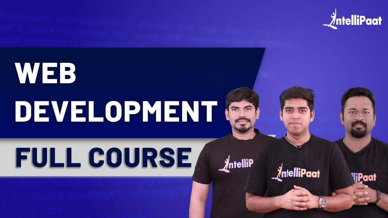 Learn Web Development   Web Development Course   Intellipaat