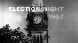 From the CBC vault: Coverage of Canadian federal elections since 1957