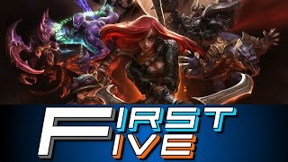 complete noobs   first five league of legends