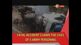 Accident in Kilinochchi claims the lives of five Army personnel