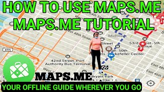 Maps.me tutorial How to use maps.me best offline map screenshot 1