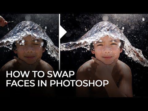 How To Swap Faces & Expressions In Photoshop | Master Your Craft