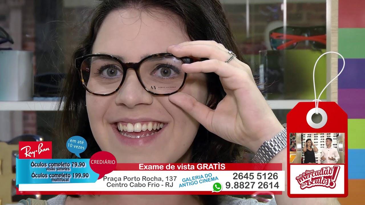 602836b11691e Rede de Óticas Mercadão dos Óculos Dezembro - YouTube