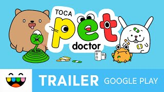 Help Our Animal Friends | Toca Pet Doctor | Google Play Trailer | @TocaBoca