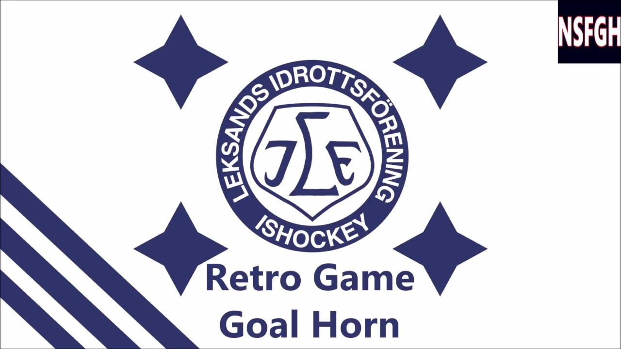 Leksands IF Retro Game Goal Horn - YouTube