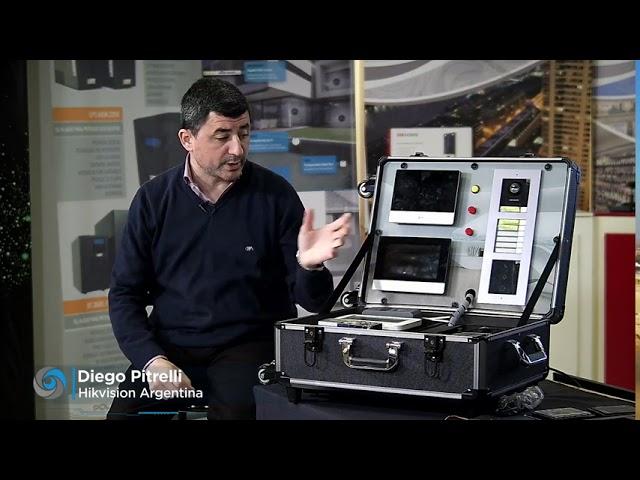 Vivo y Demo Hikvision VIDEO INTERCOM | Security One !