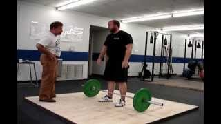 The Power Snatch with Mark Rippetoe