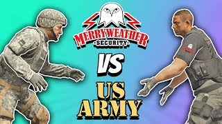 GTA 5 | ARMY vs MERRYWEATHER