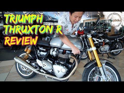 รีวิว Triumph Thruxton R 1200cc. Cafe Racer ที่หล่อที่สุด   Bigbike Review