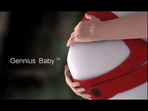 GENIUSBABY PREGNANCY AUDIO BELT/FETUS EDUCATION DEVICE,VISIT Www.geniusbaby.co.in