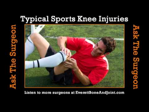 Typical Sports Knee Injuries