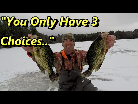 Ice Fishing Crappie Secrets - How To Locate Early Ice Crappie…