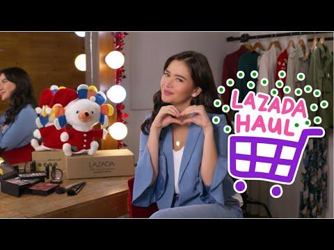 Bela Padilla's Lazada Haul