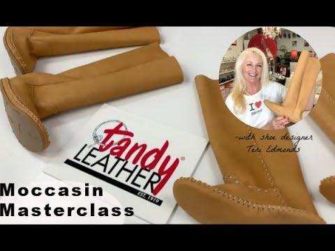 DIY Boot Tutorial: Tandy® Moccasin Masterclass