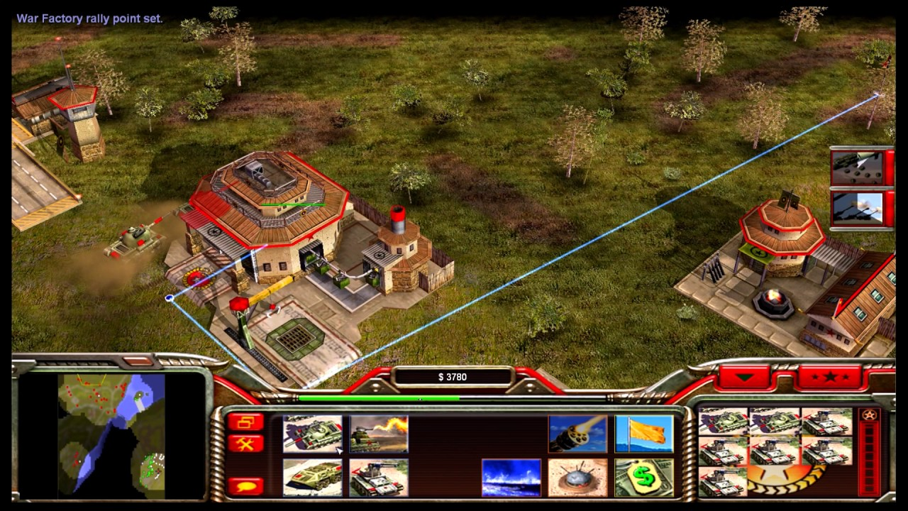Command & Conquer Generals Gameplay Campaign China Mission 3 ...