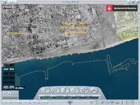 Vol virtual per Diagonal Mar i el Front Marítim del Poblenou