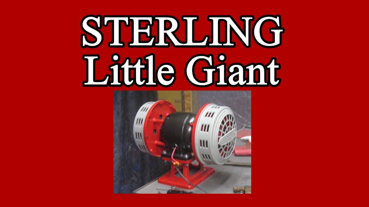 Vintage 1930s 40s WWII Sterling Little Giant Air Raid Civil Defense  Firehouse Siren