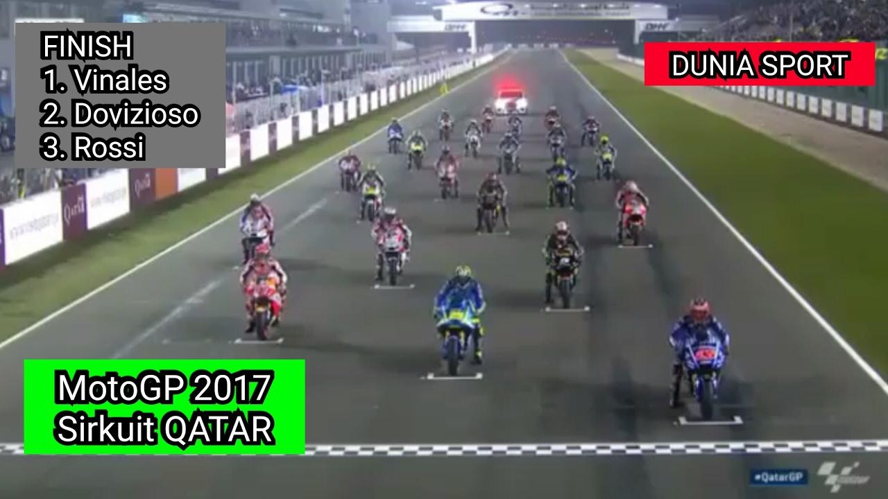 MotoGP 2017 Sirkuit QATAR 27 MARET YouTube