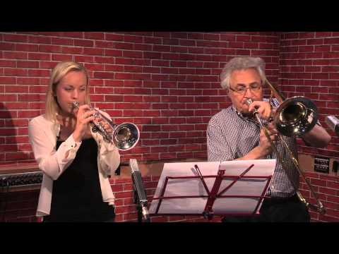 John Suchet and Tine Thing Helseth perform The Godfather Waltz