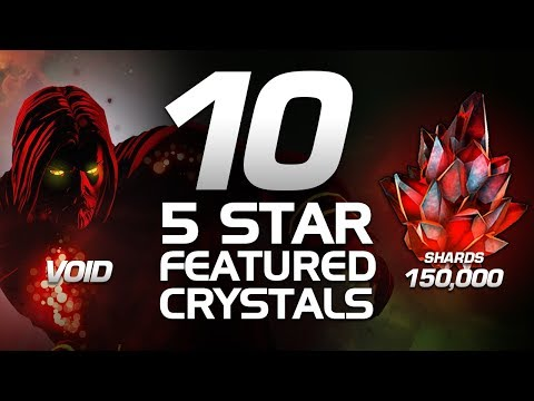 150,000 Shards! for VOID! 5 Star! 10 Crystals | Marvel Contest of Champions