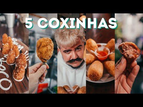 TOP 5 COXINHAS DIFERENTES EM SÃO PAULO